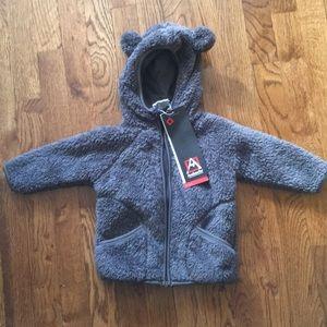 Toddler fleece jacket